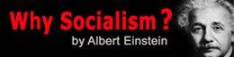 Why Socialism by Albert Einstein